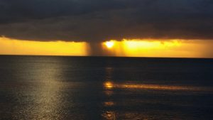 PHOTO OF THE DAY: Rain in the sunset