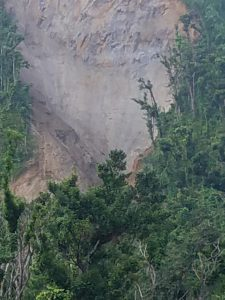 IN PICTURES: Landslide in the heights of Wotten Waven