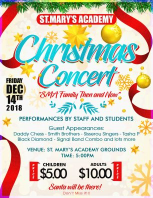 Christmas Concerts Near Me.St Mary S Academy Christmas Concert Dominica News Online