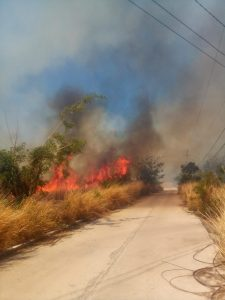 ANNOUNCEMENT: Bush fire in Salisbury affects Digicel service