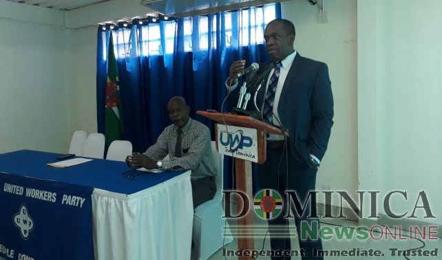 Linton says a UWP government will manage the number of Haitians entering Dominica