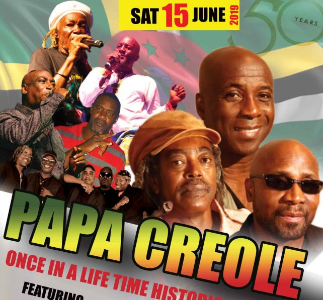 Patrons encouraged to come early in order to catch Papa Creole's main act
