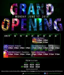 ANNOUNCEMENT: Emerald Movies Grand Opening!