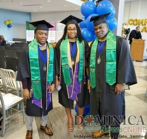 Three Dominicans excel at Monroe College in New York.