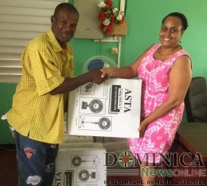 Dominica Infirmary receives 17 fans to help cope with the heat