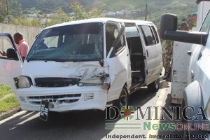 Two taken to hospital following accident at Canefield