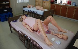 Simulation Nursing Skills Lab presented to Dominica State college