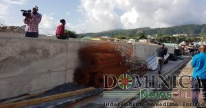 Roseau River wall to be completed by September says PM Skerrit