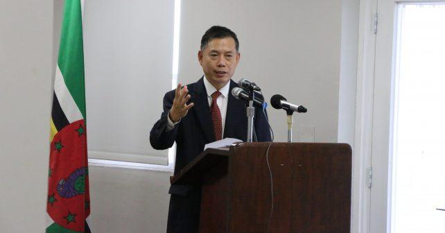Chinese scholarship recipients urged to be envoys for Dominica