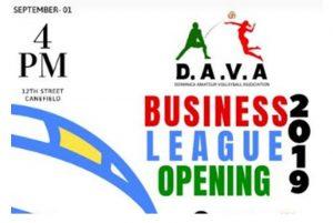 Dominica Amateur Volleyball Association (DAVA) Business League returns in September: