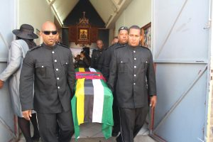 Funeral of former govt minister: Priest calls for selfless service from public officers