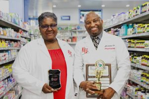 Jolly's pharmacists cop two top regional awards
