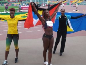 West Indian women dominate high jump at Pa Nam Games