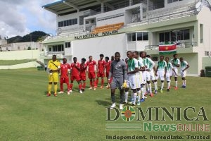 Dominica loses to Suriname in CONCACAF game