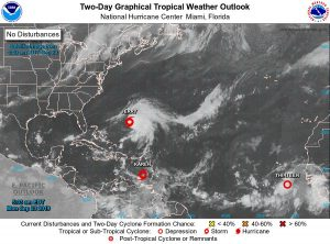 WEATHER UPDATE(6:00 AM): Unstable conditions from TS Karen continue to affect Dominica