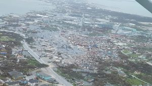 Bishop Malzaire expresses solidarity with hurricane-devastated Bahamas