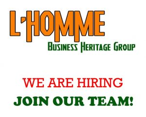 ANNOUNCEMENT: Now hiring – L'Homme Business Heritage Group