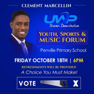 ANNOUNCEMENT: Youth Sports and Music Forum hosted by Clement Marcellin