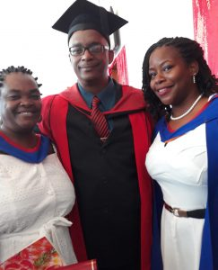 A UWI first: Dominican mother and daughter graduate on same day with Bachelor's