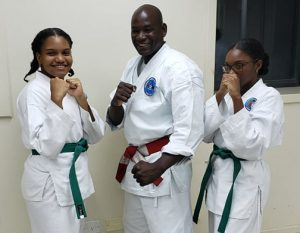 """""""Historic"""" Karate grading for Dominican owned Universal Martial Arts Academy"""