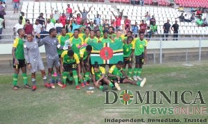 Dominica national football team stuns critics; defeats St. Vincent & the Grenadines