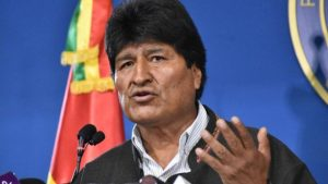 Bolivian President Evo Morales resigns amid election protests; power vacuum follows