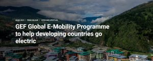 CARICOM countries to benefit from global e-mobility programme