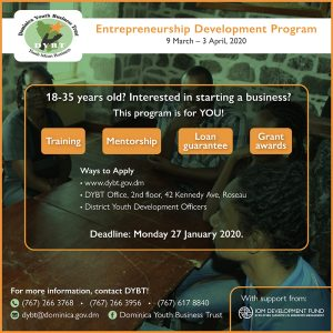 ANNOUNCEMENT: Entrepreneurship Development Program from DYBT