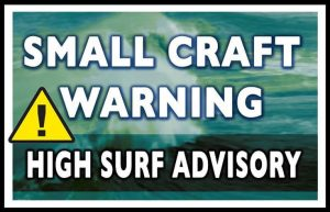 High surf advisory and small craft warning in effect for Dominica until January 15