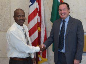 Loftus Durand participates in U.S. State Department-sponsored program on volunteerism and civic action