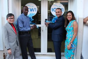 Insurance Company of the West Indies official opening