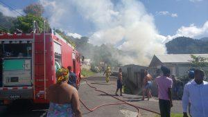 Fire in Bath Estate