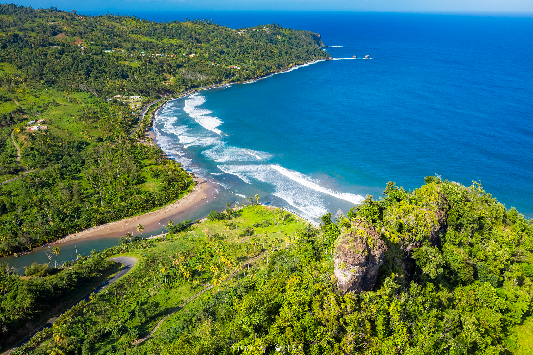 FEATURED PHOTO: Pagua Bay from the Antrizzle Road