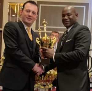 Dominican martial artist wins award for world-renowned karate teacher of the year