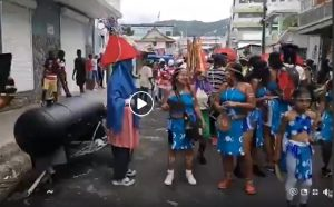 DNO live coverage of Carnival Monday in Roseau