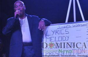 Newcomer in the Dominica Calypso 2020 finals