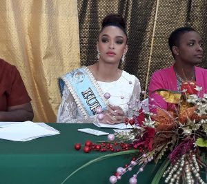 Miss Dominica contestants 2020 receive advice from Miss World Europe