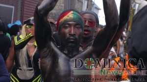 IN PICTURES: Jouvert bands in Roseau