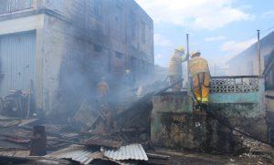 UPDATE: Fire on Bath Road in Roseau