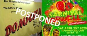 DOMFESTA 2020, Carnival Gopwell in Dominica postponed due to COVID-19 coronavirus