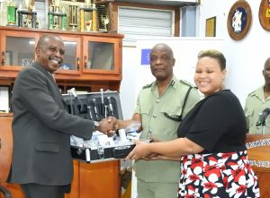 Dominica police force receives crime scene investigation equipment