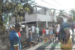 Dominica Fire Service refutes criticism of its response to Newtown fire