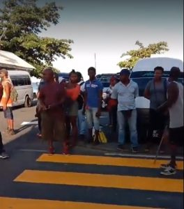 (WITH VIDEO) Bus drivers from Portsmouth and surrounding areas protest