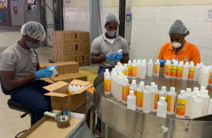 Dominica among distilleries in the OECS supplying alcohol to fight COVID-19