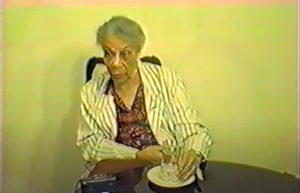 FROM THE ARCHIVES (Video): Dame Eugenia Charles, being interviewed in 1996