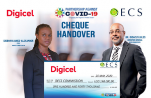 OECS partners with Digicel to provide protective equipment in COVID-19 Fight