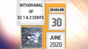 ANNOUNCEMENT: ECCB – final chance to use your 1 and 2 cent coins