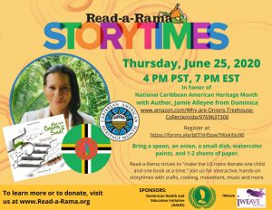 Dominican author features in Seattle-based literacy programme
