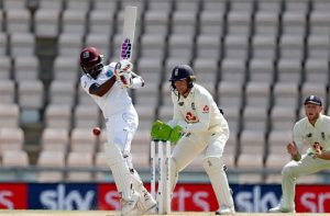 Blackwood shines as West Indies wins 1st of 3-Test series against England