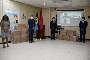 CARPHA receives medical supplies from the People's Republic of China
